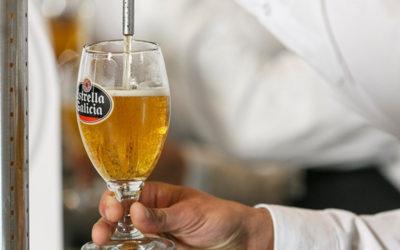 Bonestar Bistro, subcampeón del concurso de tiraje de cerveza en la Comunitat